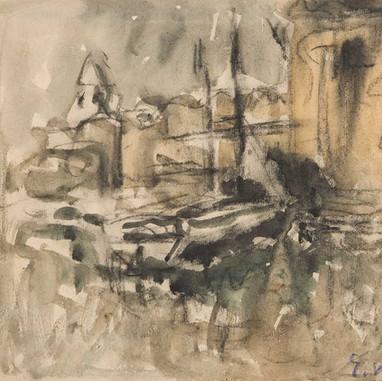 1946. Studija za Trogir II