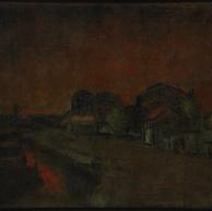 1921. Porto al Tramonto