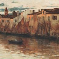 1897. - 1899. Motif from Chioggia