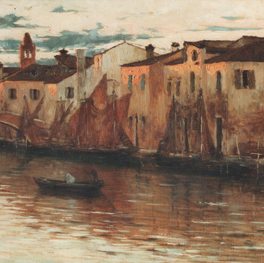 1897. - 1899. Motif from Chioggia