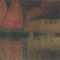1908. Fishermen's boats in Chioggia