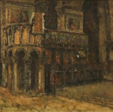 1940. Interijer trogirske katedrale