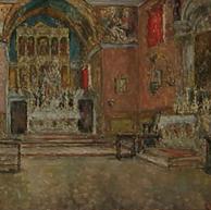 1940. L'Interno della Chiesa a Poljud