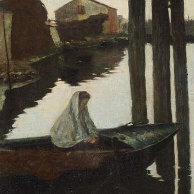 1896. - 1897. Lagoon. Chioggia