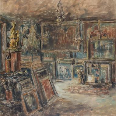 1938. Unutrašnjost atelijera