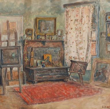1939. Slikarova soba