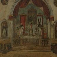 1940. L'Interno della Chiesa di San Domenico a Trau