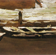1895. - 1896. Boats covered in snow