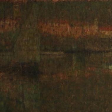 1909. Il Porto al Tramonto