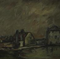 1923. Le Case Contadine vicino a Venezia