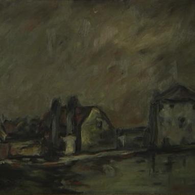 1923. Seljačke kuće kraj Venecije
