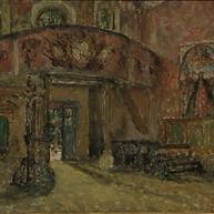 1944. L'Interno della Chiesa a Poljud
