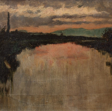 1898. Dusk at Jadro
