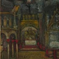 1945. L'Interno della Cattedrale di Spalato