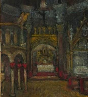 1945. Interijer splitske katedrale
