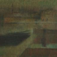 1921. Dawn in Split Harbour
