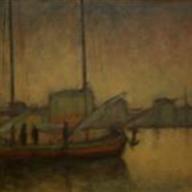 1928. Morning in Split Harbour