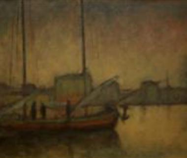 1928. La Mattina nel Porto di Spalato
