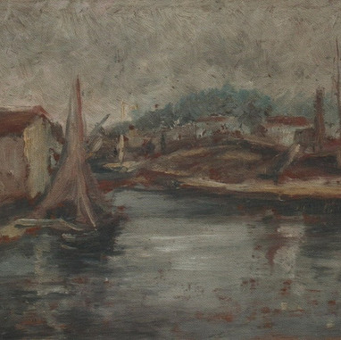 1895. - 1896. Canal Perotolo