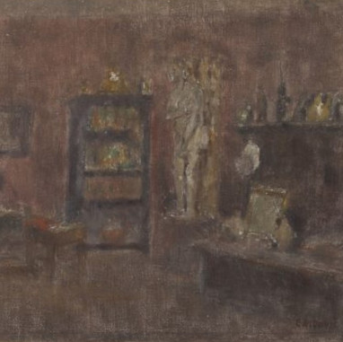 1947. Interijer