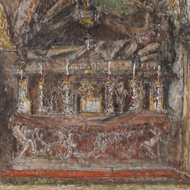 1939. The Altar of St. Anastasius