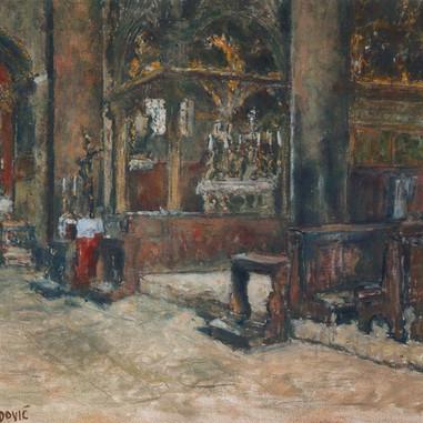 1939. Nella Cattedrale di Spalato