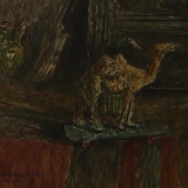 1946. Natura morta con il Cammello