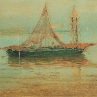1899. - 1901. Lagoon. Venice