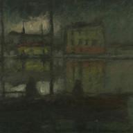 1929. Fishermen in the Harbour
