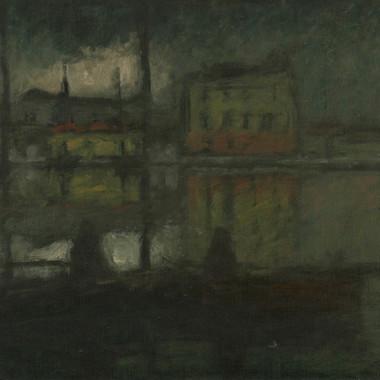1929. I Pescatori nel Porto