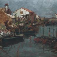 1895. - 1896. Morning in Chioggia