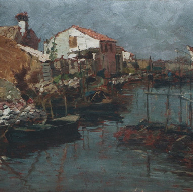 1895. - 1896. Morning in Chioggia