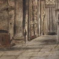 1938. Nella Cattedrale di Spalato