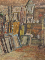 1938. Interior of the Studio