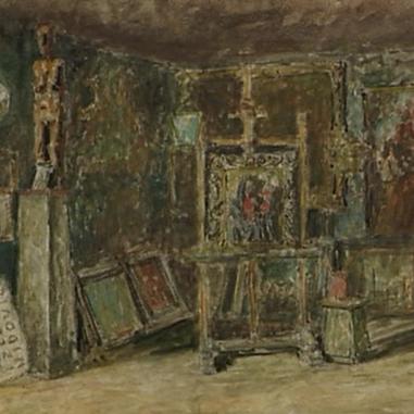 1938. Interijer atelijera