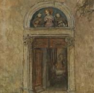 1940. Il Portale della Chiesa a Poljud