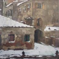 1895. - 1896. Snow in Chioggia