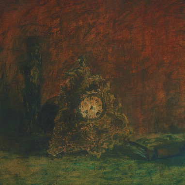 1945. Still life with Clock