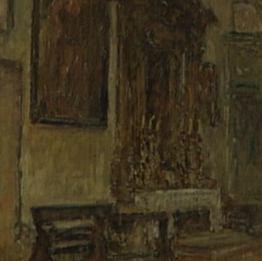 1940. Unutrašnjost Sv. Mihovila
