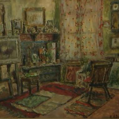 1939. Slikareva soba