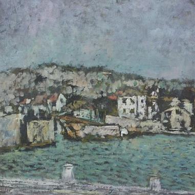 1948. Trogir, stari most