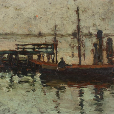 1895. - 1896. Motif from Venice