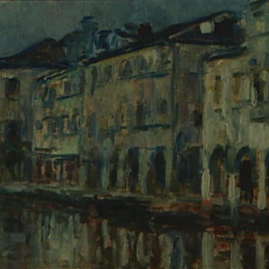 1932. Venecija, Canal Grande