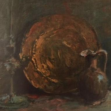 1940. Il Piatto con la Caraffa e la Candeliera