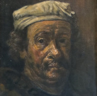 1941. (circa) Autoritratto di Rembrandt