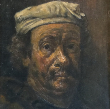 1941. (around) Rembrandt's self portrait