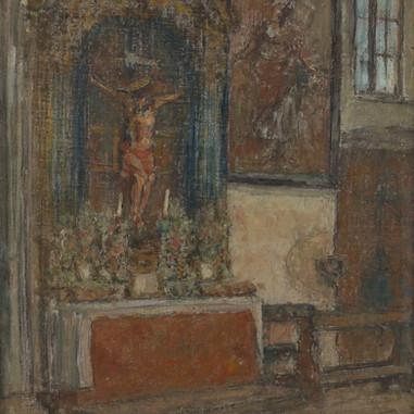 1940. Interijer Sv. Mihovila u Trogiru