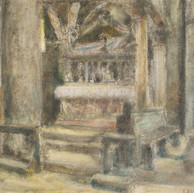 1938. L'Interno di San Doimo all'Alba
