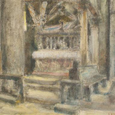 1938. Interijer Sv. Duje u osvit