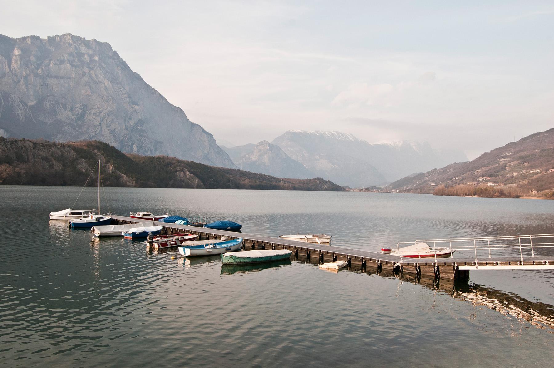 Pontile del lago